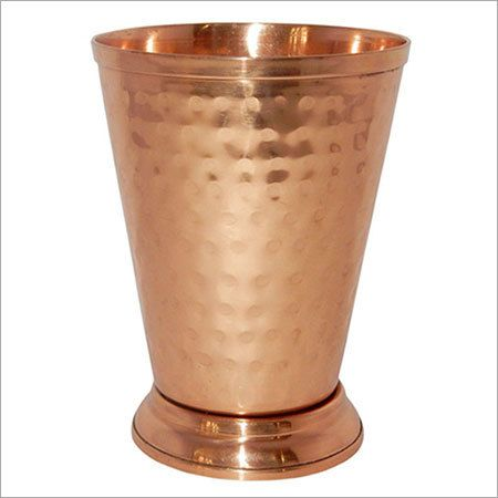 Hammered Copper Moscow Mule Mint Julep Cup