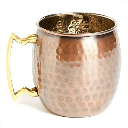 Hammered Antique Moscow Mule Mug
