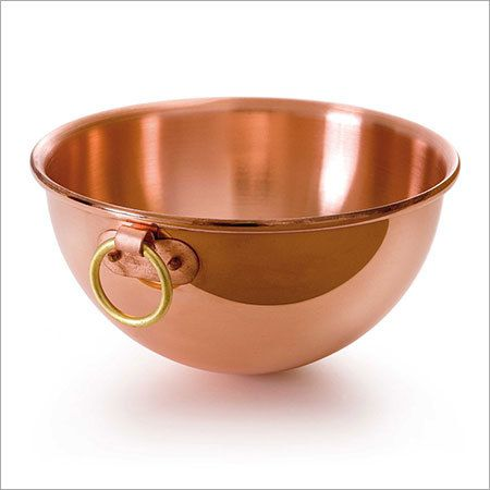 Copper Bowl With Hanging Ring