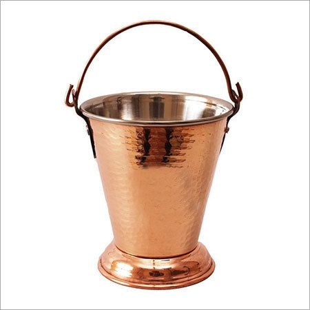 Able Serving Copper Bucket