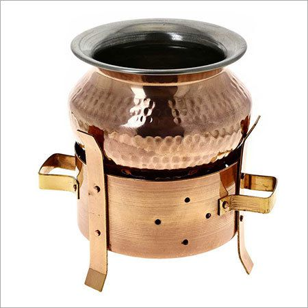 Copper Handi Pot