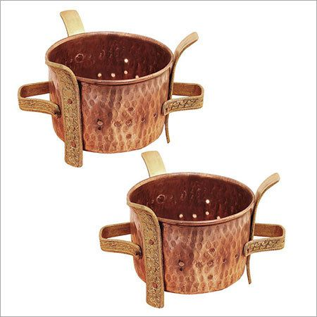 Copper Pot Warmer Stand