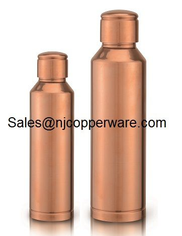 Pure Copper water Bottle Jointless and Leakproof